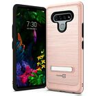 For LG Stylo 6 Magnetic Metal Kickstand Heavy Duty Hard Shockproof Phone Case