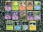 14 Rare Holographic Pokémon Cards: Condition, Cost, and Types in Description