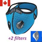 Sport mask + 2 breathing valve [1 mask + 2 filters], [Original Version] Reusable