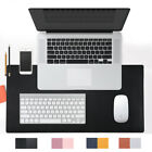 Dual-sided Desk Mat Waterproof Anti-slip Mouse Keyboard Mat Blotter Protector