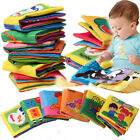 Intelligence development Cloth Fabric Cognize Book Educational Toy for Baby Kid