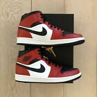 Nike Air Jordan 1 Mid Chicago Toe NEU DSWT (554724-069)