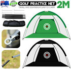 Foldable Outdoor Golf Practice Driving Hitting Net Training Aid Cage
