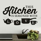 Removable Kitchen Wall Sticker Window Vinyl Decal For Bedroom Home Decoration