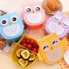 Cute Cartoon Owl Lunch Box Food Container Storage Box Portable Kids Student Lunc