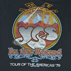 Yes Band In The Round Tour T shirt Black Unisex All Size Reprint M902