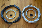 ---- Braided Brake Cable Housing Set ^ Jagwire ^ Braided Black Or Braided Silver