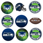 Seattle Seahawks Edible Image Toppers. Edible Round Pre Cut Stickers. $8.95 USD on eBay