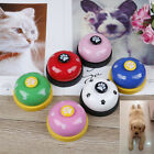 Pet training bell dog toys Puppy Pet Call Dog paw print ringer pet supplie JE