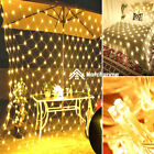 ⭐led Mesh Net Lights String Fairy Lights Wedding Party Outdoor Garden Home Decor