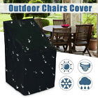 Waterproof Stacking Chair Cover Outdoor Garden Parkland Patio Chairs Au