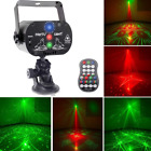 U`King Party Laser Lights With 3 Lens Led Projector Stage Light By Sound Activat