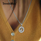 """White Gold Plated Horoscope Zodiac Sign Pendant Necklace 20/22"""" Box Link Chain"""