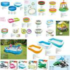Intex Inflatables Kids Swimming Pools Children Paddling Floating Beach Bath Toys