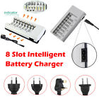 Battery Charger Charging Dock For AA AAA NI-MH NI-CD Rechargeable Batteries