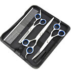 Professional Pet Dog Cat Clippers Scissors Hair Grooming Thinning Shears Sets