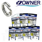 Owner Hyper Wire Split Rings Fishing Terminal Tackle 5196 Select Size