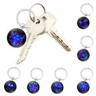 1pc Gifts Constellation Key Chain Accessories Ring 12 Constellation Keyrings New