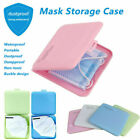 Face Mask Storage Case Face Shield Holder Portable Box Travel Organizer-