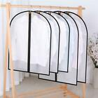 2pcs Clothes Hanging Organizer Dust Cover Garment Dress Suit Protector Case Home
