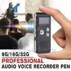 Rechargeable 8GB Digital Audio/Sound/Voice Recorder Dictaphone MP3 Player B2AE