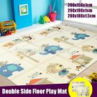 3 Sizes Double Sides Baby Crawling Thick Play Cover Mat Folding Rug Floor