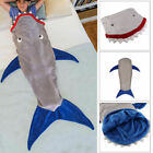 Shark Tail Blanket - Soft and Warm Fleece Fabric for Kids Adult