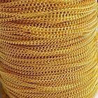 Gold Tone Plated Loose Curb Jewellery Making Chain 1m 2 Metre 1.5mm Links Dainty