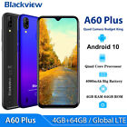 Blackview A60 Pro A60 A20 Pro 16gb Smartphone 4080mah 6.1 Waterdrop Mobile Phone