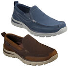 Skechers Relaxed Fit: Superior - Milford Shoes Mens Memory Foam Canvas Trainers