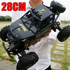 28cm 4WD RC Monster Truck Off-Road Vehicle Crawler Car w/ Remote Control Gift