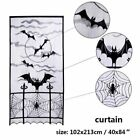 Party Halloween Lace Table Cloth Cover Door Window Scary Tablecloth Decoration