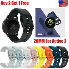 Kyпить Samsung Galaxy Watch Active 2 40/44mm Silicone Sport Band  or Tpu cover case на еВаy.соm