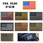 84*50mm Americans Flag Embroidery Tactical Patch Armband Badge Backpack Stickers