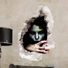Halloween 3D Horror Scary Wall Decals Stickers Horrible Murals Wallpaper Poster