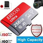 KRECOO Ultra Micro SD Card 256GB 128GB 64GB 275MB/s Class 10 4K TF Memory Card