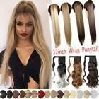 Long Clip In Ponytail Pony Tail Hair Extension Fake Hair Pieces Long curly wavy