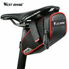 WEST BIKING MTB Road Bike Cycling Saddle Tail Bag Bicycle Seat Pouch Storage