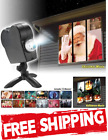 Mini Window Home Christmas Halloween Laser Projector 12Movies Disco Light Movie