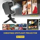 Christmas Halloween Laser Projector 12Movies Disco Light Mini Window Home Theate
