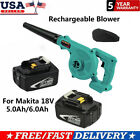 2 in 1 Cordless Blower Vacuum Tool For Makita 18V 5.0Ah/6.0Ah Li-ion Battery
