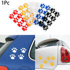 New Creative Decals Personality Car Sticker  Cute Cat Paw Footprint Prints