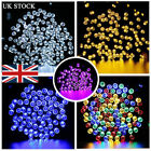 50-200 LED Solar Powered Fairy String Lights Xmas Party Garden Outdoor Indoor UK