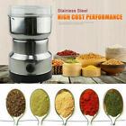 Stainless Electric Coffee Grinder Grinding Milling Bean Nut Spice Matte Blender