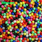 Mixed Color Stoppers Drill  Fishing Cross Beads Double Pearl  Floats Balls
