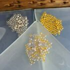 Crimp Beads 2mm Round Silver Gold Or Mixed Pack 100 Jewellery Making Findings Uk