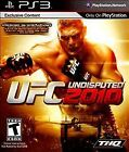 UFC Undisputed 2010 PS3 (Sony PlayStation 3 PS3) Complete, Clean, Free Shipping