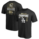 Men's Los Angeles Dodgers Fanatics  2020 World Series Champions Signature Shirt