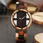 NEW Vintage Style Genuine Ebony Wood Wrist Watch - Casual Wooden Watches...