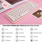 Bluetooth Keyboard Mini Portable Wireless 84-Key Keyboard for Android Windows PC